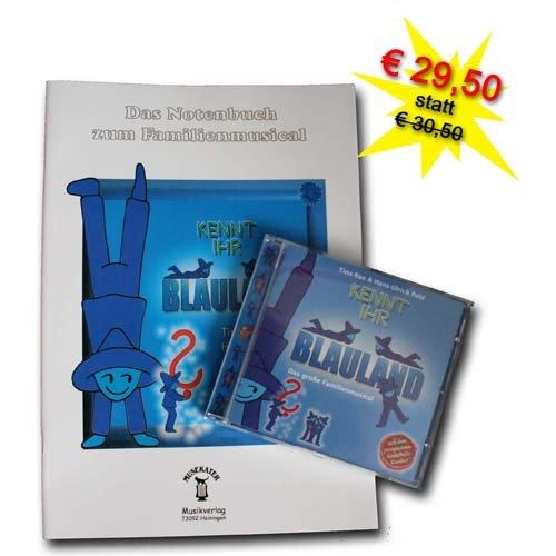 Kennt Ihr Blauland - Das große Notenbuch und die CD zum Musical - Bundle2