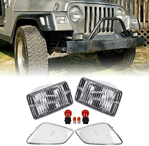 ECOTRIC Latest item Clear Bumper Signal + Fender Co Marker At the price Lights Combo Side