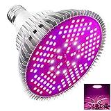 Ashmita Pflanzenlampe 100W,150 LEDs Vollspektrum Led Pflanzenlicht,E27 Pflanzen Licht Beleuchtung für Hydroponik Zimmerpflanzen,Gewächshaus Garten,Gemüse,Obst