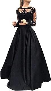 LILICAT/® Vestido de mujer Holiday Off Shoulder Stripe Party Vestido de manga larga sin mangas Ladies Summer 2018 Elegante baile