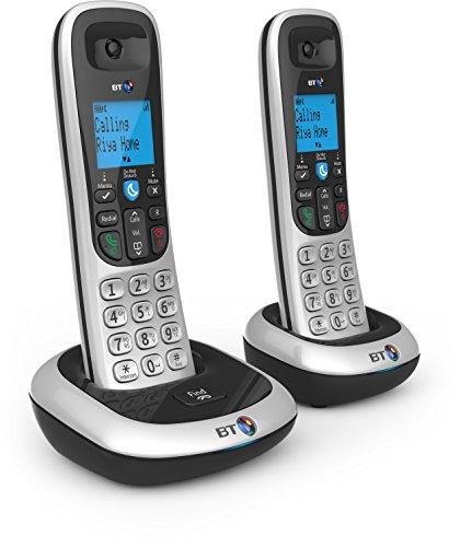 BT 2200 Nuisance Call Blocker Cordless Home Phone - Twin Handset Pack