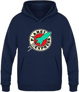 Planet Express Hoodies Long Sleeve Fleece Pullover Hoodie Sweatshirts Retro Printed Hoodie