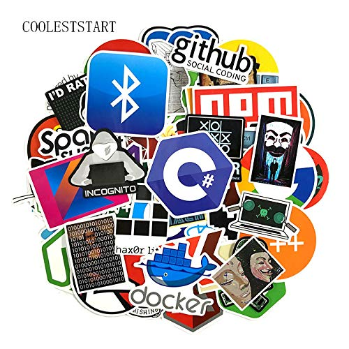 Programmeren Stickers Geek Hacker Stickers Voor Bagage Laptop Notebook Motorfiets Sticker Skateboard Speelgoed 123 stks/pack