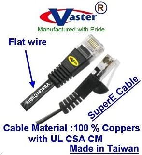 Black CP TECHNOLOGIES C5E-BK-25-M Patch Cable CAT5e 25 RJ-45 M//M