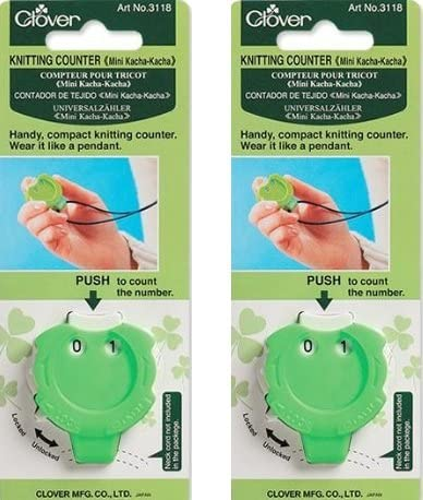 Clover Knitting Stitch Counter Mini Kacha-Kacha