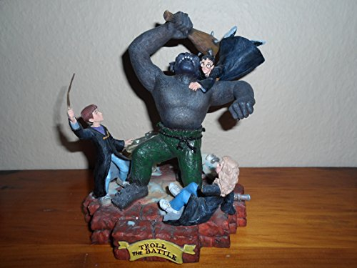 Limited Edition Harry Potter The Troll Battle Masterpiece Figurine Statue with Certificate of Authenticity image