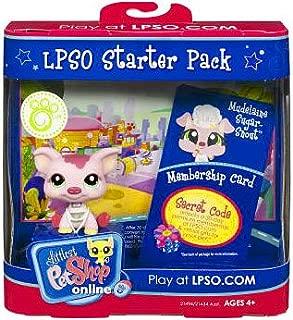 Littlest Pet Shop Online LPSO Web Game Starter Pack Mudelaine SugarSnout Pig