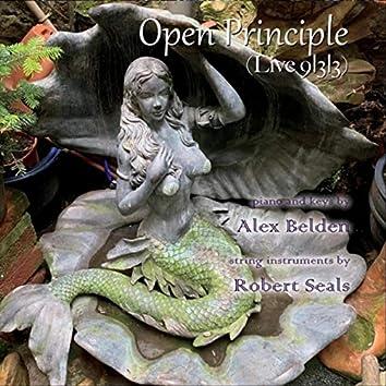 Open Principle (Live 9-3-3) [feat. Robert Seals]