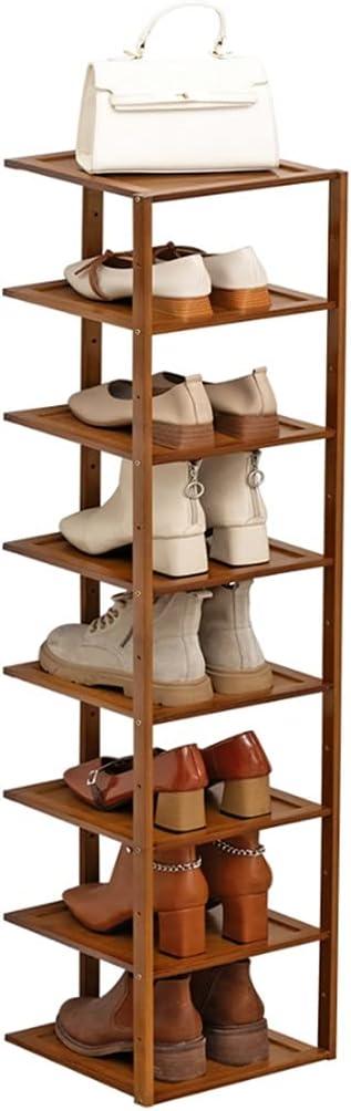 ZHONGTAI Shoe Rack 8-Tier 55% OFF Spac Max 81% OFF Shelf Stand Narrow