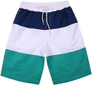 Plus Size Swim Truck Swimwear for Men Youth, Jiayit Men's Shorts Swim Trunks Elastic Waist Quick Dry Beach Surfing Running Swimming Watershort Holiday Short Pants