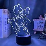 Lámpara de anime 3D My Hero Academia Minoru Mineta para...