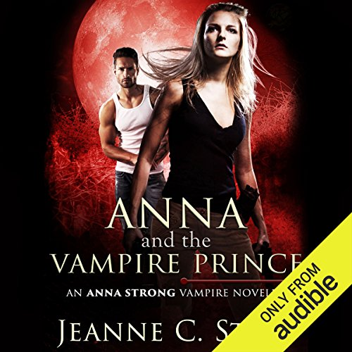 Anna and the Vampire Prince audiobook cover art
