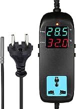 BASSK MH-2000 - Termostato electrónico con pantalla digital LED
