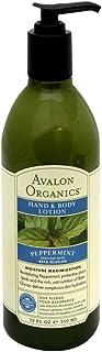 Avalon Organics Lotion H&B Peppermint