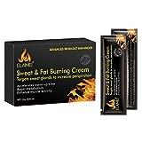 B Baosity Crema para Quemar Grasa Y Sudor Crema Potenciadora Del Sudor para Muslos, Piernas, Abdomen