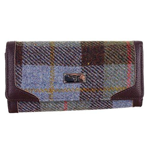 Neu Damen Stilvolle Original Harris Tweed Lange Brieftasche/Geldbeutel in Auswahl Styles - Macleod...