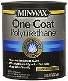 Minwax 356050000 One Coat Polyurethane, Quart, Satin