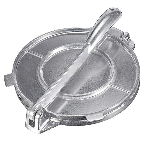 DYL&CDAI 20 CM maker tortilla's, maïs brood maker aluminium, aluminium taart deeg, multifunctionele machine tortilla's