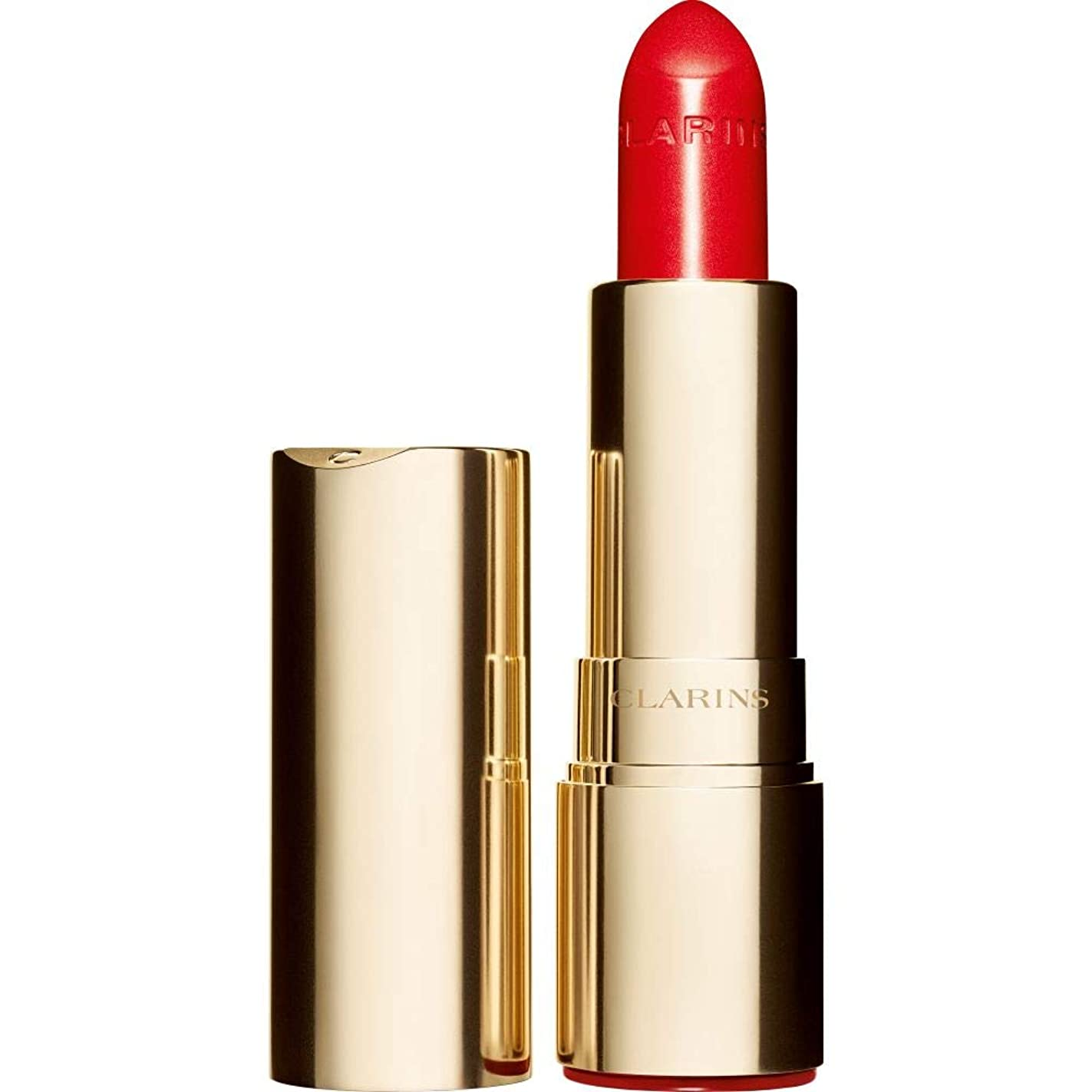 四回パレード以来[Clarins] クラランスジョリルージュブリリアント口紅3.5グラムの741S - 赤、オレンジ - Clarins Joli Rouge Brillant Lipstick 3.5g 741S - Red Orange [並行輸入品]