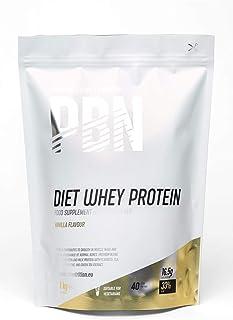 PBN - Paquete de proteína de suero de leche light, 1 kg (sabor vainilla)