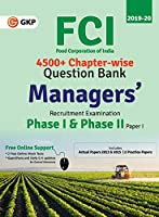 FCI Manager Phase I & Phase II (Paper 1) - Chapterwise Question Bank (English)