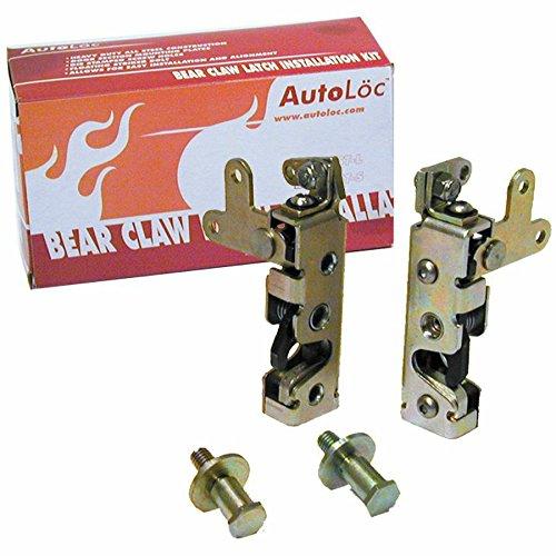 Autoloc AUTBCSM Locking Mini Bear Claw Door Latch Set