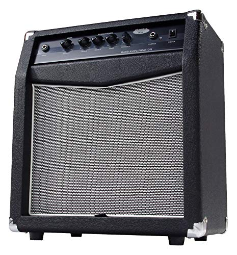 "Classic Cantabile SB-300 Basscombo (Verstärker mit 60 Watt, 10\"" Speaker, 4-Band Equalizer, Bassreflex-Gehäuse)"