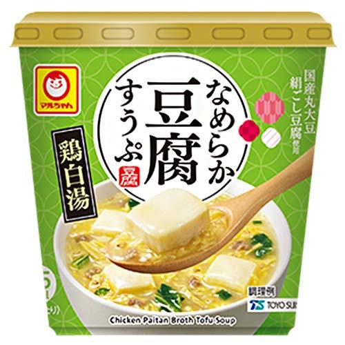 マルちゃん なめらか豆腐すうぷ 鶏白湯 14.0g ×6個