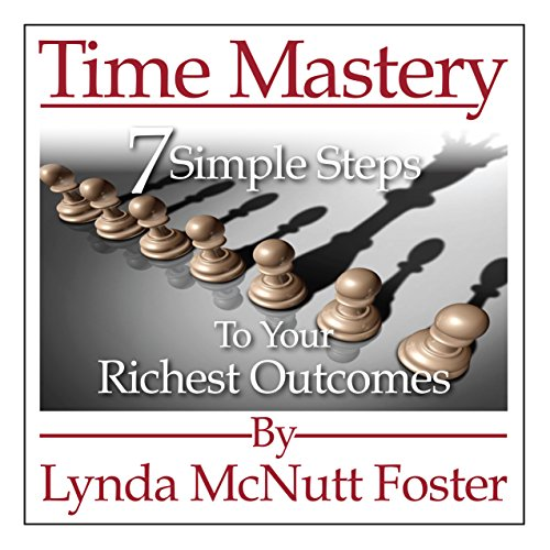 Time Mastery audiobook cover art