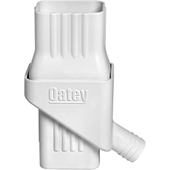 """Oatey Mystic Rainwater Collection System Fits 2"""" X 3"""" Residential Downspouts"""