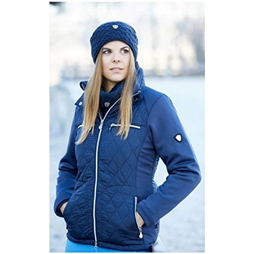 Covalliero Damen Softshelljacke CECILE dunkelblau XXL