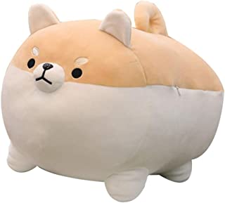 Auspicious Beginning Stuffed Animal Plush Toy Anime Corgi Kawaii Plush Soft Pillow Doll Dog, Plush Toy Best Gifts for Girl...