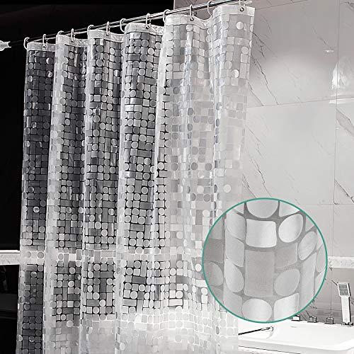 vinyl shower curtain clear - 8