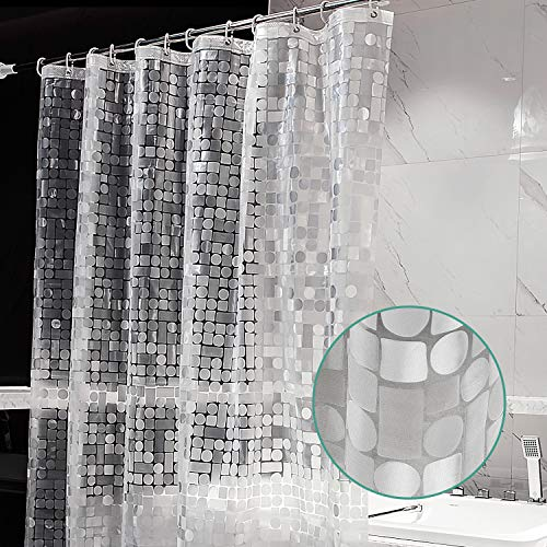 Cortina Baño Transparente  marca ARICHOMY