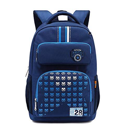 Mochila Escolar Azul Oscuro Oferta Mochila Para Estudiantes Ortopedia Para Niños Mochilas Escolares Correas De Hombro Gruesas Mochilas Escolares Para Niños Y Niñas Sac A Dos
