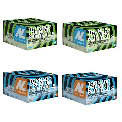 New Legion Paintball Paket - 2x Thunder, 2x Tornado