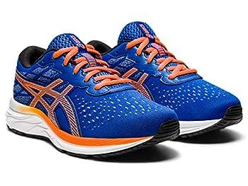 ASICS Kid s Gel-Excite 7 GS Running Shoes 4M ASICS Blue/Shocking Orange