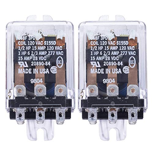 PC784-1C-12S-R-X-2 5Pin SPDT-NO 12VDC Coil 35 Amp Micro ISO Sealed Automotive Relay w//PlugIn Contacts /& Resistor x2 Cross: Song Chuan 871-1C-S-R1-12VDC