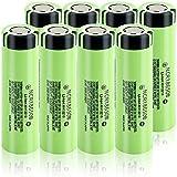 3.7V 3400Mah 18650 Batería De Iones De Litio Li Batería Recargable Ncr18650B para Cámaras-2 Piezas