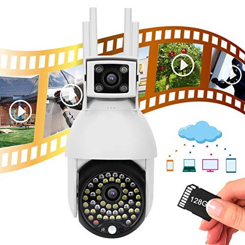 Cámara WiFi, cámara de vigilancia de Seguimiento Inteligente de visión Nocturna, para Soporte doméstico Android /(European regulations)