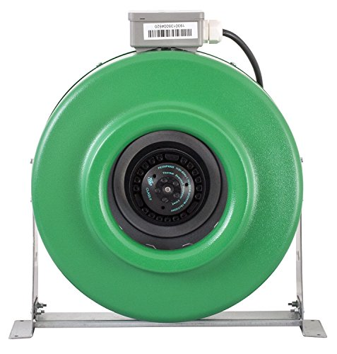 Hydrofarm ACDF8 Active Air Inline Fan, 8 Inch, Green