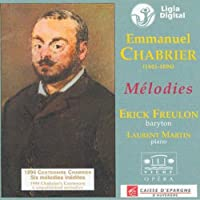 Chabrier: Melodies