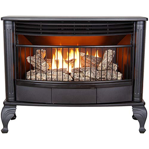 ProCom Ventless Dual Fuel Stove-25,000 BTU,...