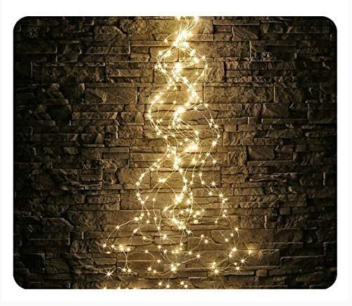 Solar Led Filament Light String Outdoor Waterproof Festival 10 Silver wires-100 Lights Warm White