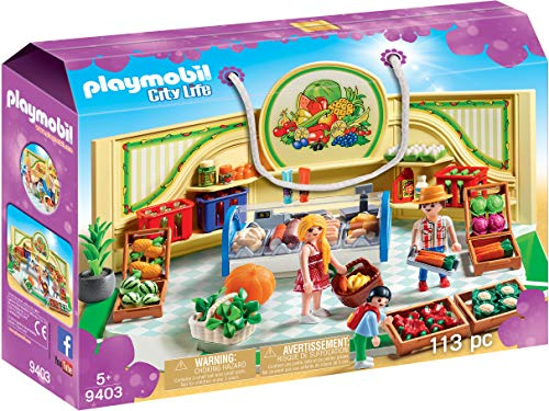 Playmobil 9403 City Life Kruidenier