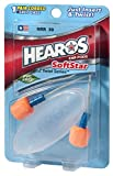 HEAROS SoftStar Foam Ear Pods 1 Pair, Corded + POP Case (Pack of 3)