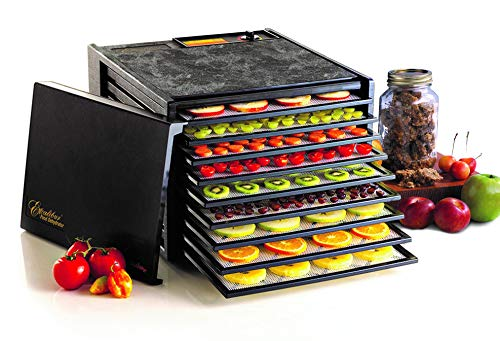 Big Save! Excalibur 3900B 9-Tray Electric Food Dehydrator with Adjustable Thermostat Accurate Temper...