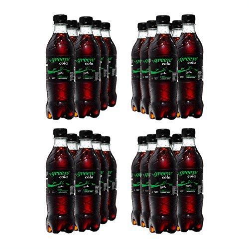 Green Cola Getränk Zuckerfrei Aspatamefrei Ohne Konservierungsstoffe Nur Natürliche Aromen inkl. Pfand (PET Flasche 0,5l 24er Pack)
