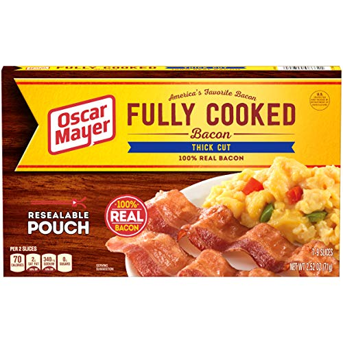 Oscar Mayer Thick Cut Fully Cooked Bacon (2.52 oz Package)
