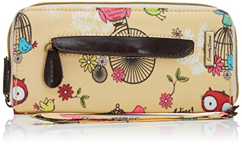 Tiny Love - Pembleton Owl Front Zipper Detail Wallet, Portafoglio da Donna